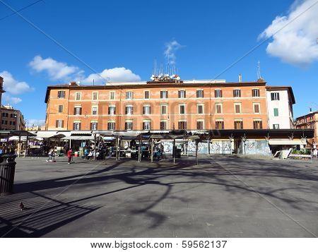 Piazza San Cosimato Market Stall
