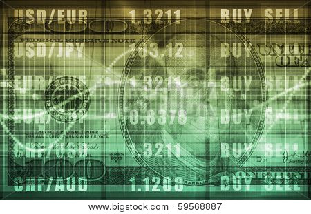 Forex Market Analysis for Business Commerce poster