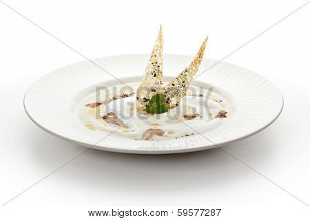 Cream Soup with Truffle Soup