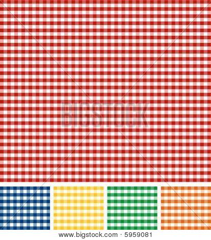 Picnic Tablecloth Texture