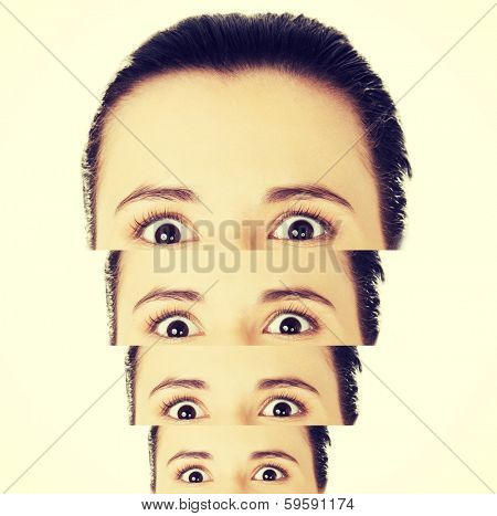 Woman multiple personality disorder, Dissociative identity disorder, Schizophrenia poster