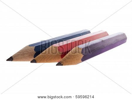 Colourful Sharp Pencils