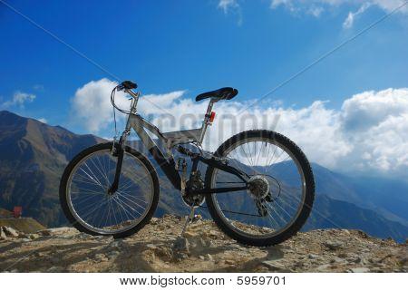 Bike On Rocks