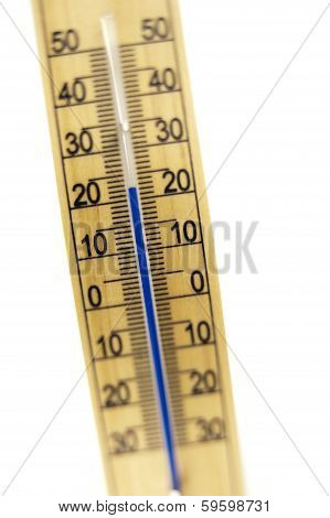Mercury Room Thermometer, Shot In Tilt And Shift Mode