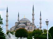 Sultanahmet Cami most fomous as Blue Mosque poster