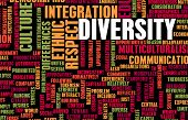 Diversity in Culture and People as a Concept poster
