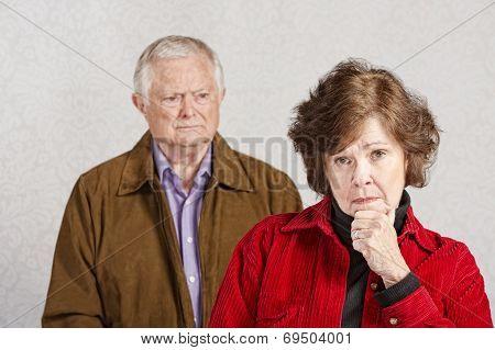 Serious Senior Woman