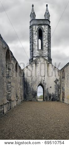 The Old Ruin Church At Dunlewey