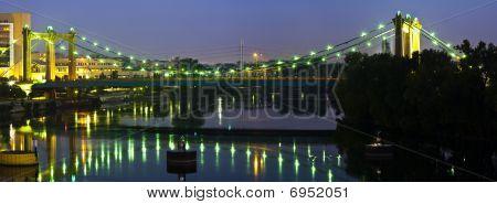 Hennepin Ave Bridge before Sunrise