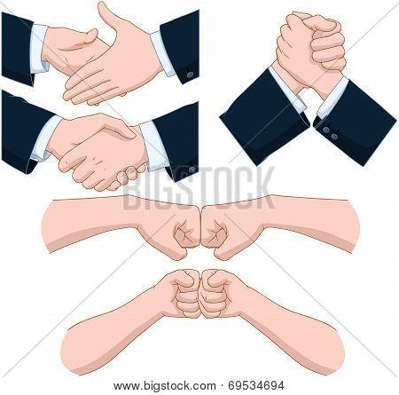 Hand Shakes Pack