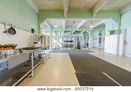 Alcatraz Dining Hall, San Francisco, California