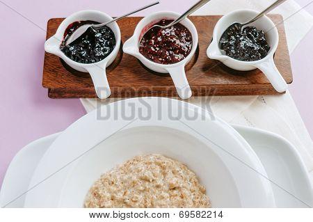 Porridge With Jam