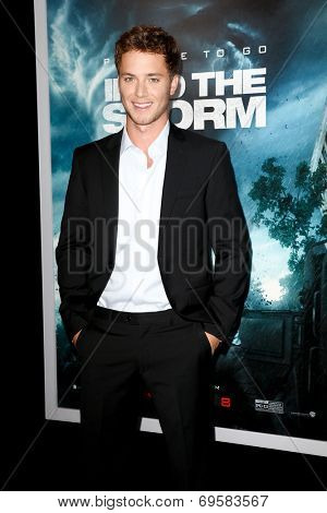 NEW YORK-AUG 4: Actor Jeremy Sumpter attends the