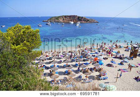 Portals Nous (playa Oratorio) Beach In Majorca