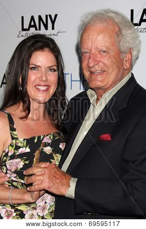 LOS ANGELES - AUG 4:  Kira Reed Lorsch, Nicolas Coster at the