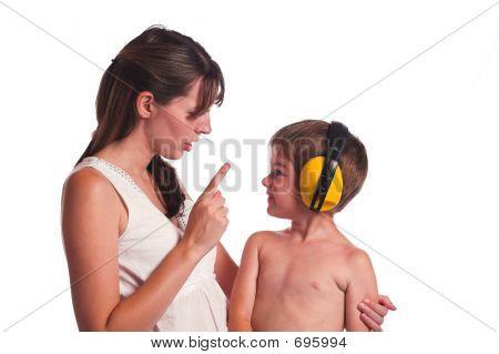 I Cant Hear You  Mom