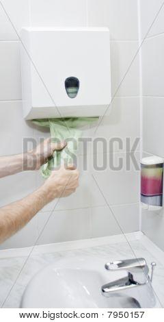 Using Paper Towel