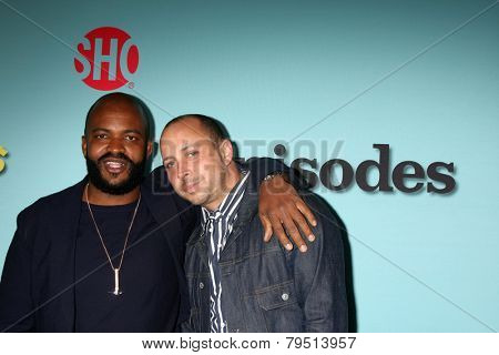 LOS ANGELES - JAN 5:  Sal Masekela, guest at the Showtime Celebrates All-New Seasons Of