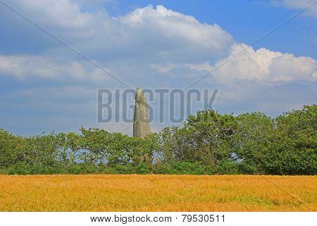 Menhir De Kerloas, France