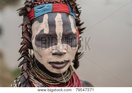 Karo Woman From The Village Of Kolcho