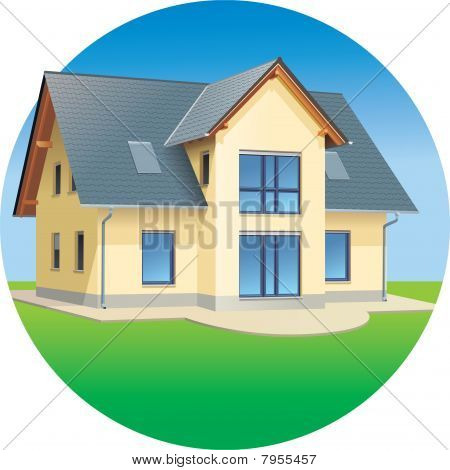 House - Real estates - residential building
