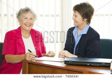 Happy Mature Businesswomen