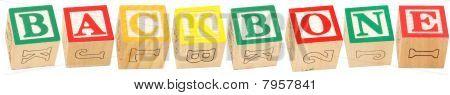 Alphabet Blocks Backbone