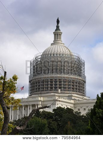 Repair of the building of the Capitol.