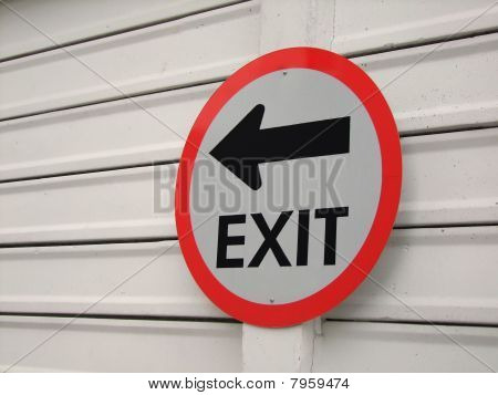 Sign,Exit,Mark