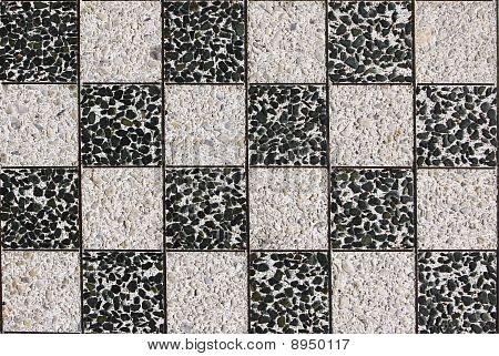 black and white chess desk stone  texture
