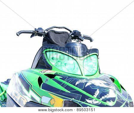 Sports snowmobile