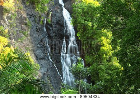Beautiful Kondalilla Waterfall.