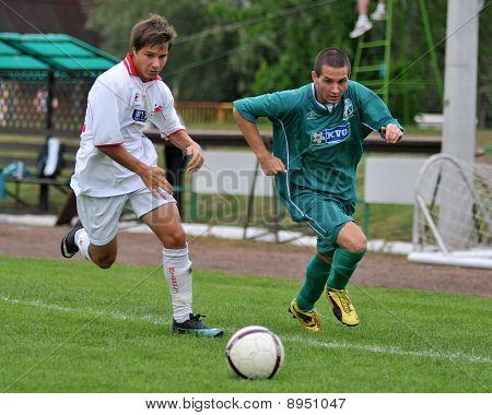 Kaposvar - Nyirsuli U19 soccer game