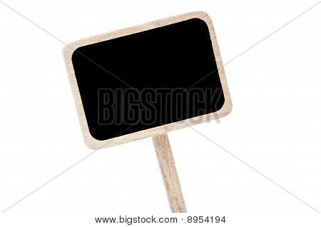 Blank Blackboard Label