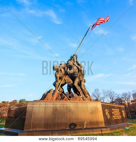 Iwo Jima Memorial Washington