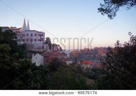 Sintra Sunset Aerial View