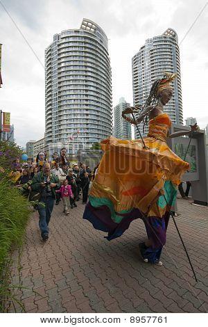 The Ashkenaz Parade