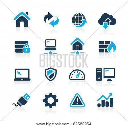 Web Developer Icons // Azure Series
