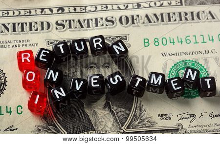 Roi Return On Investment  Dollar