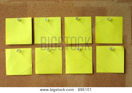 Post-its en blanco