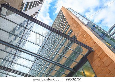 Modern european architecture.