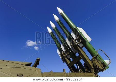 Ballistic rocket launcher