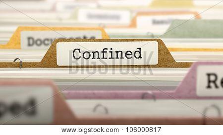 Confined Concept on Folder Register.