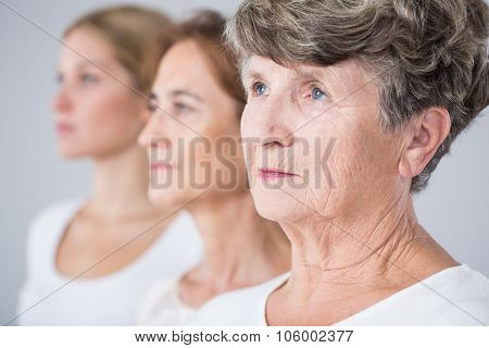 Picture Presenting Aging Process