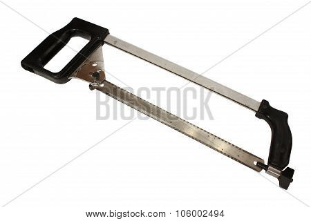 Hand Hacksaws For Metal On White Background