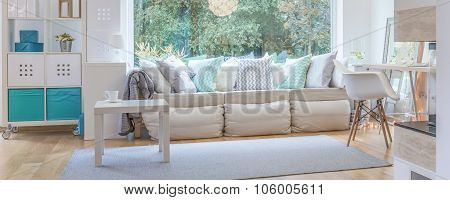 Stylish And Comfortable Window Seat