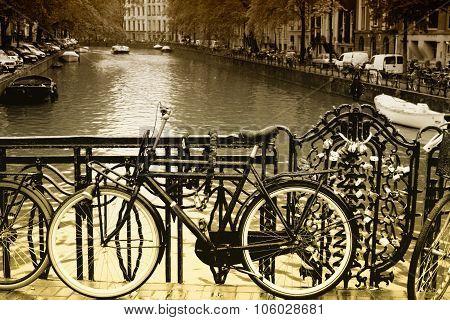 City Of Bikes - Amsterdam, Holland.