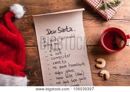 Wishlist for Santa