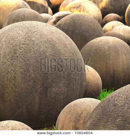 Ball Shaped Stones