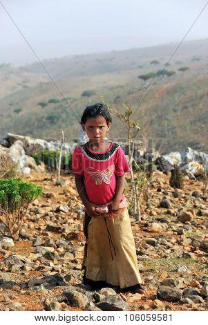 Socotrian Young Girl